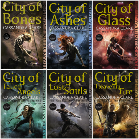 Book Review: The Mortal Instruments Series