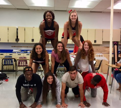 Photo of the Day: SGA Builds Pyramid