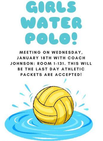 Girls Water Polo Meeting