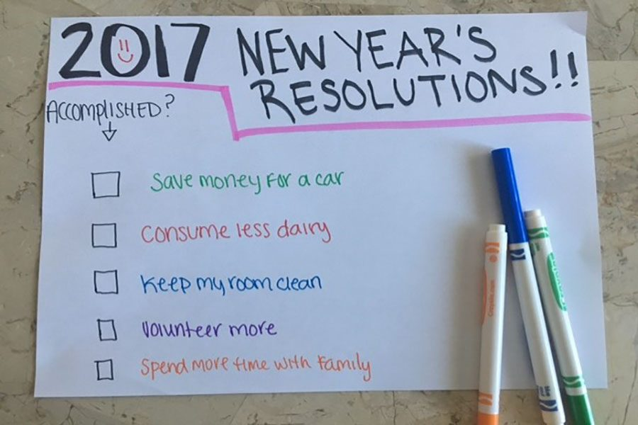 4 Ways to Accomplish Your New Year's Resolutions