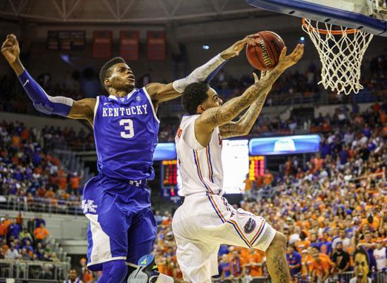 Nerlens Noel is projected to be the 1st pick in this year's NBA draft.