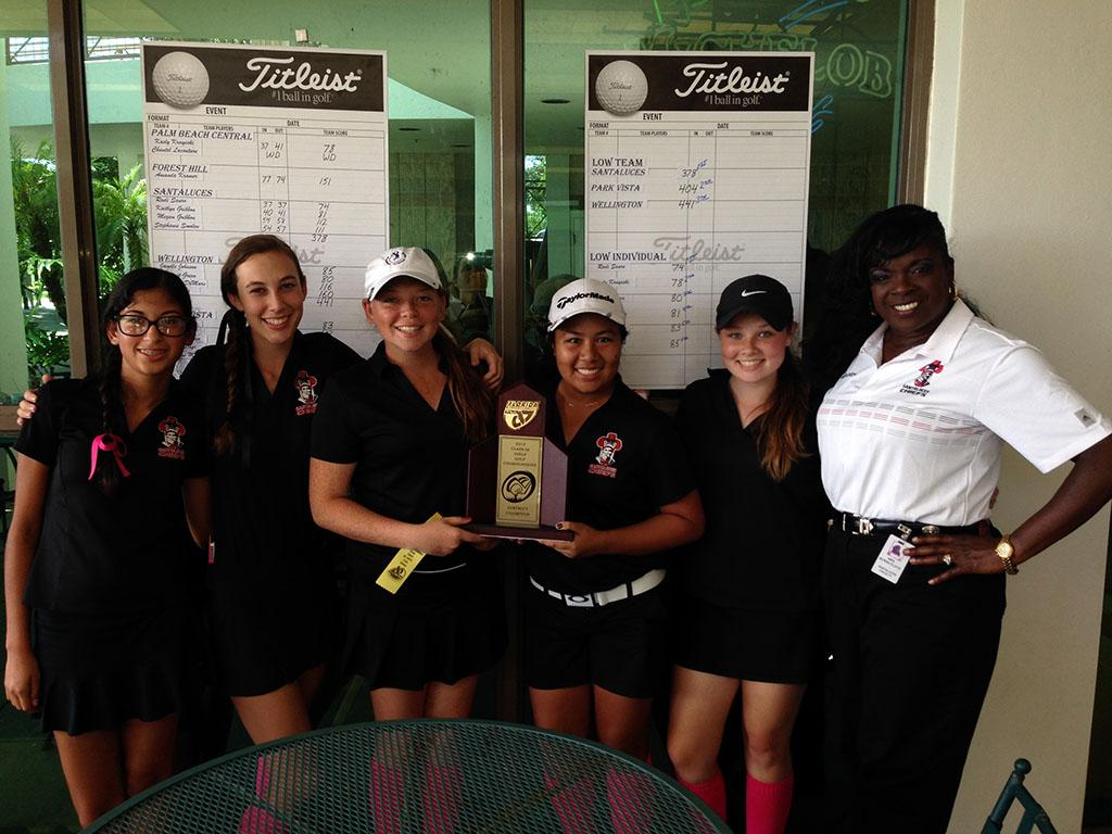 Girls+Golf+Team+Wins+Districts