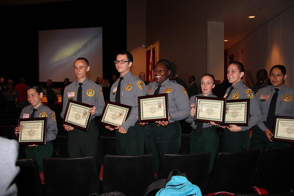 Seven Chiefs Promoted to Rank of Sergeant