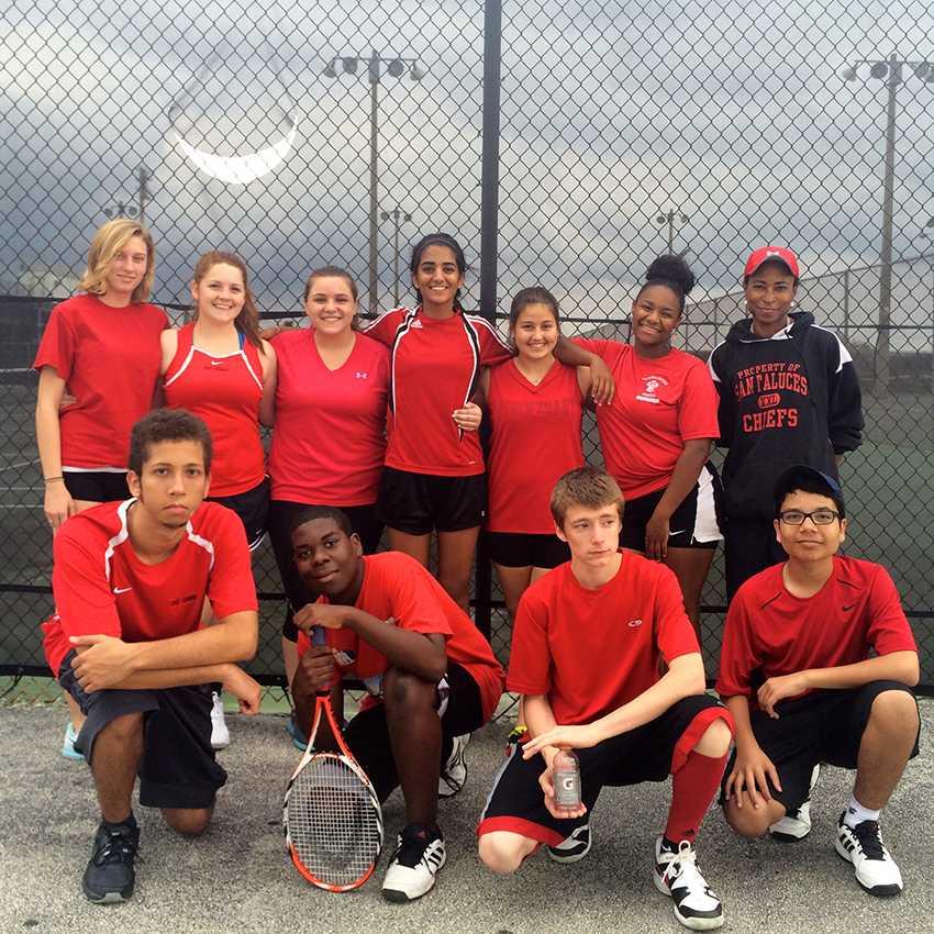 Santaluces+Chief+Tennis+Team.