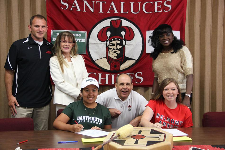 Golfing Chiefs Commit to Colleges