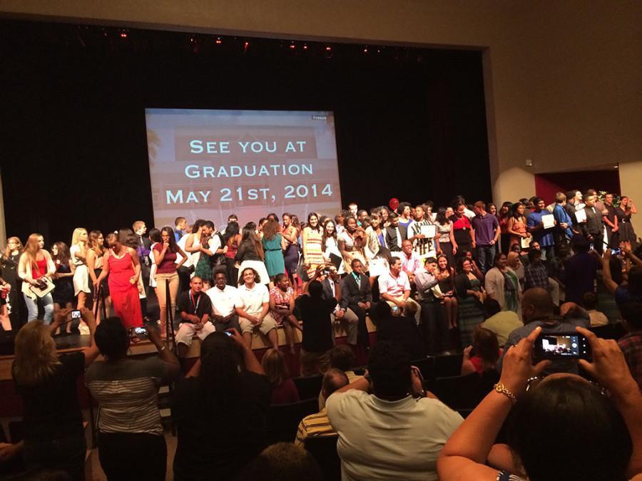 Senior Awards Showcase the Class of 2014