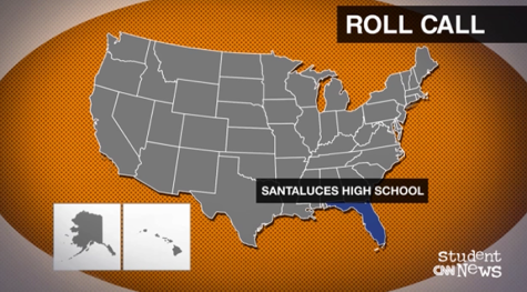Our school was featured on CNN Student News, how cool!