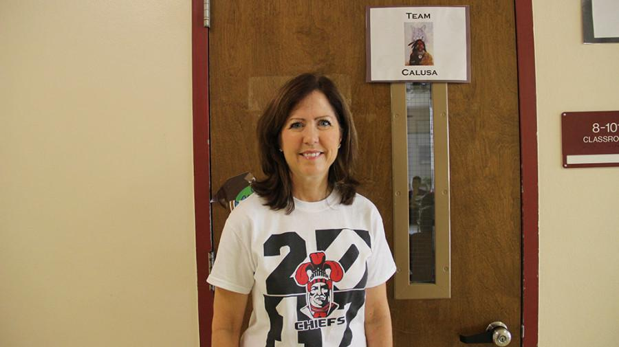 Students Rise with Mrs. Sunset