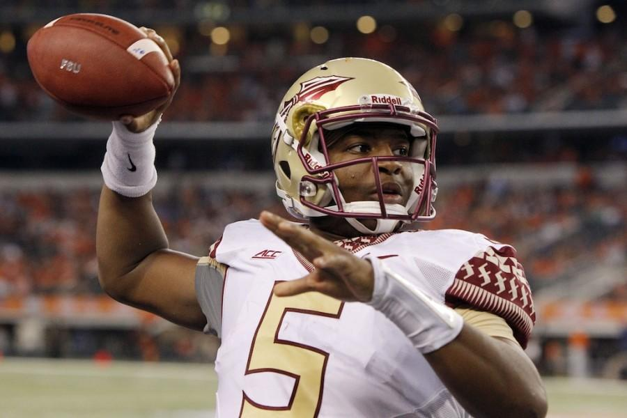 Florida+State+quarterback+Jameis+Winston+warms+up+on+the+sidelines+before+the+start+of+the+second+half+against+Oklahoma+State+at+AT%26T+Stadium+in+Arlington%2C+Texas%2C+on+Saturday%2C+Aug.+30%2C+2014.+Florida+State+won%2C+37-31.+%28Brandon+Wade%2FFort+Worth+Star-Telegram%2FMCT%29