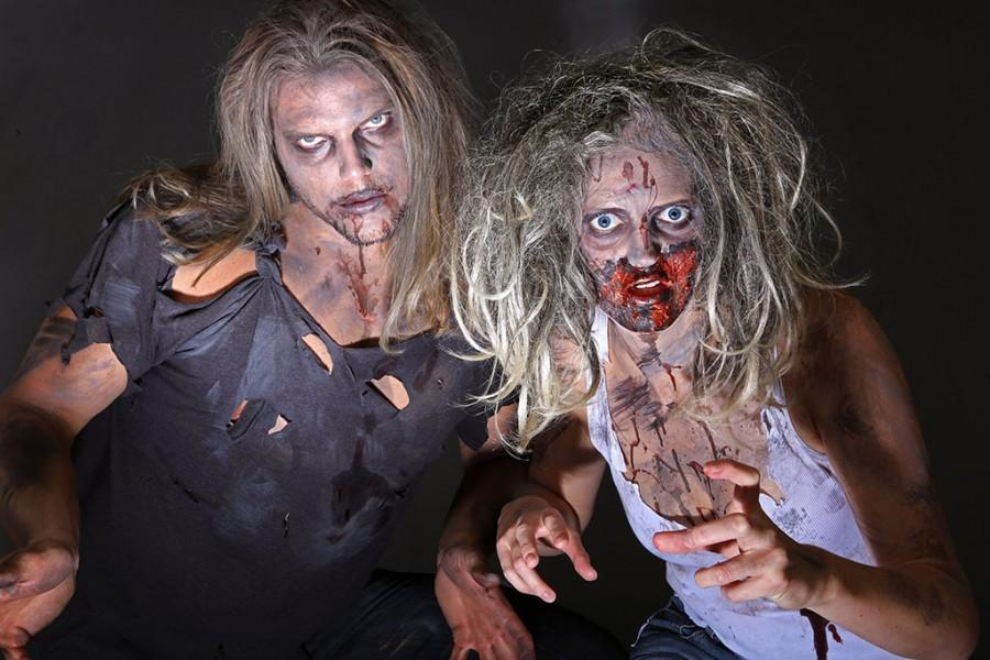 Various studies report that adults will spend more than ever before to dress themselves, their children and their pets for the 2014 festivities, and zombies are a popular source for costume inspiration. (Cristina Fletes-Boutte/St. Louis Post-Dispatch/MCT)