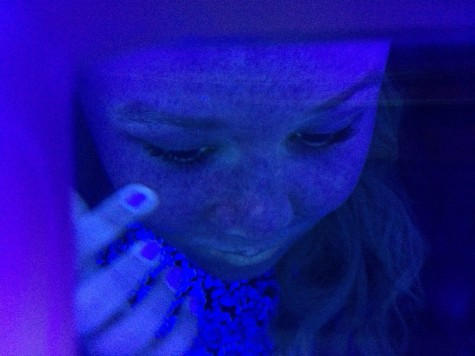Ultraviolet light reveals the damage sun has caused to your skin.