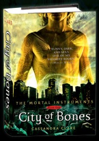The first installment of the Mortal Instruments series.