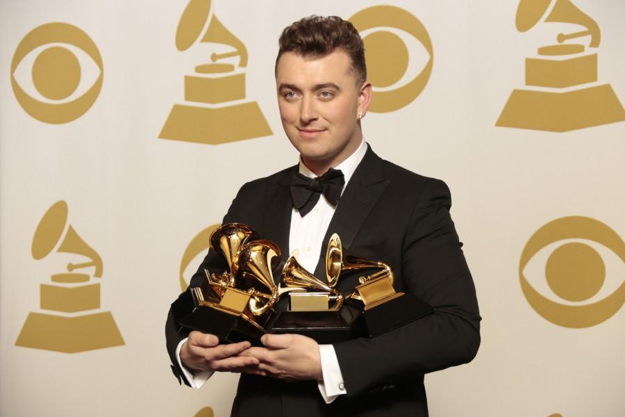Four time Grammy winner Sam Smith.