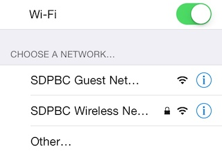 Be Wise, Don't Use School WiFi