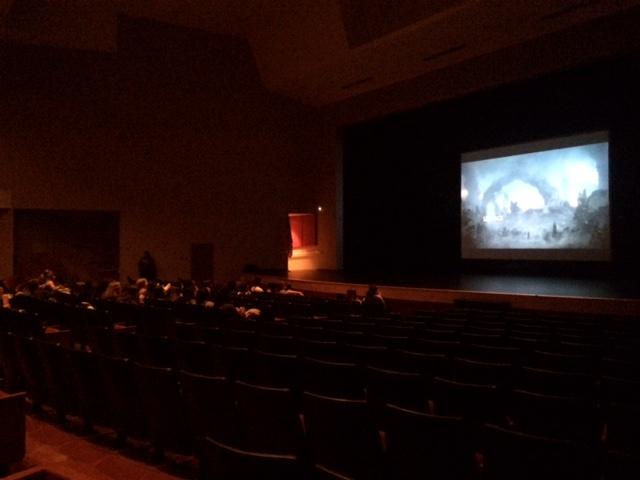 Chiefs Have a Movie Night in the PAC