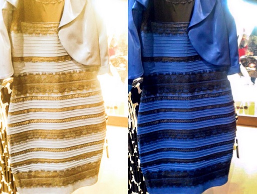 Is it White and Gold or Blue and Black?