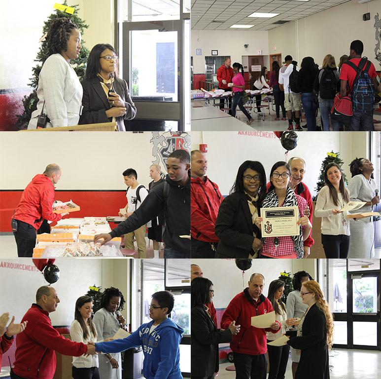 Some highlights of the Honor Roll breakfast for the juniors.