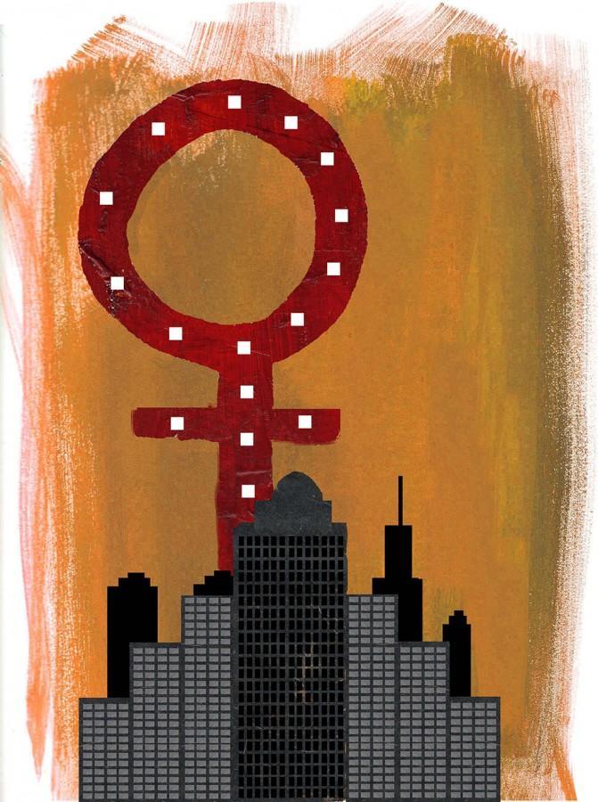 Working women illustration