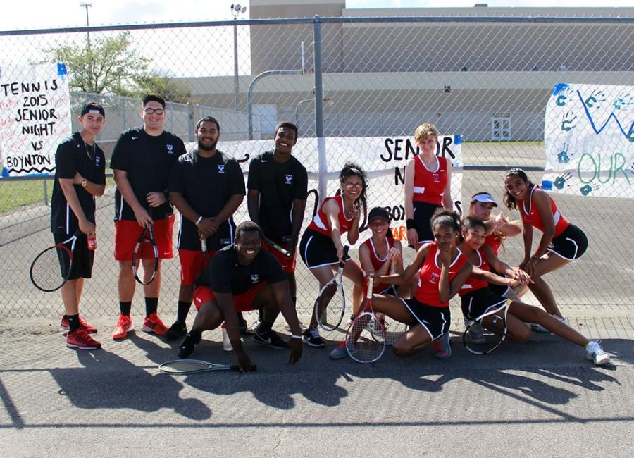 Santaluces+Tennis+Teams+Senior+Night