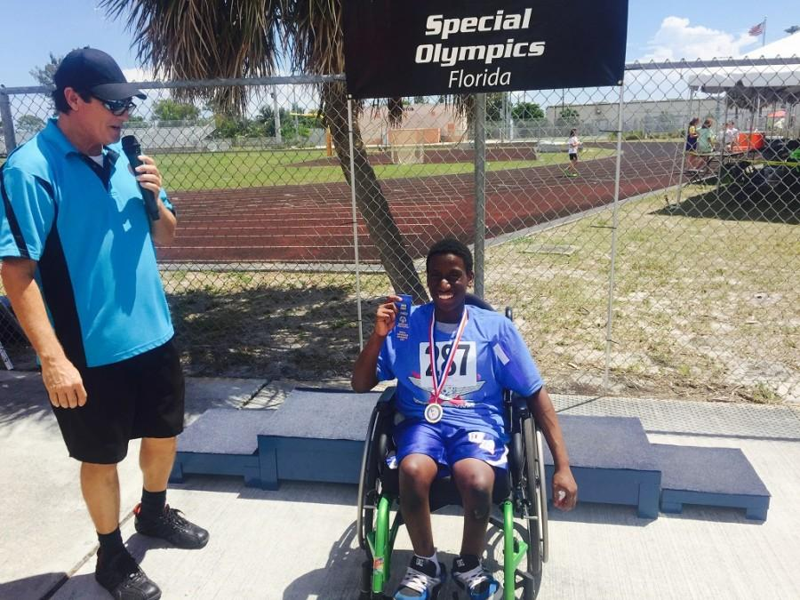 Hecly+Hector+Wins+First+Place+in+Wheelchair+Races