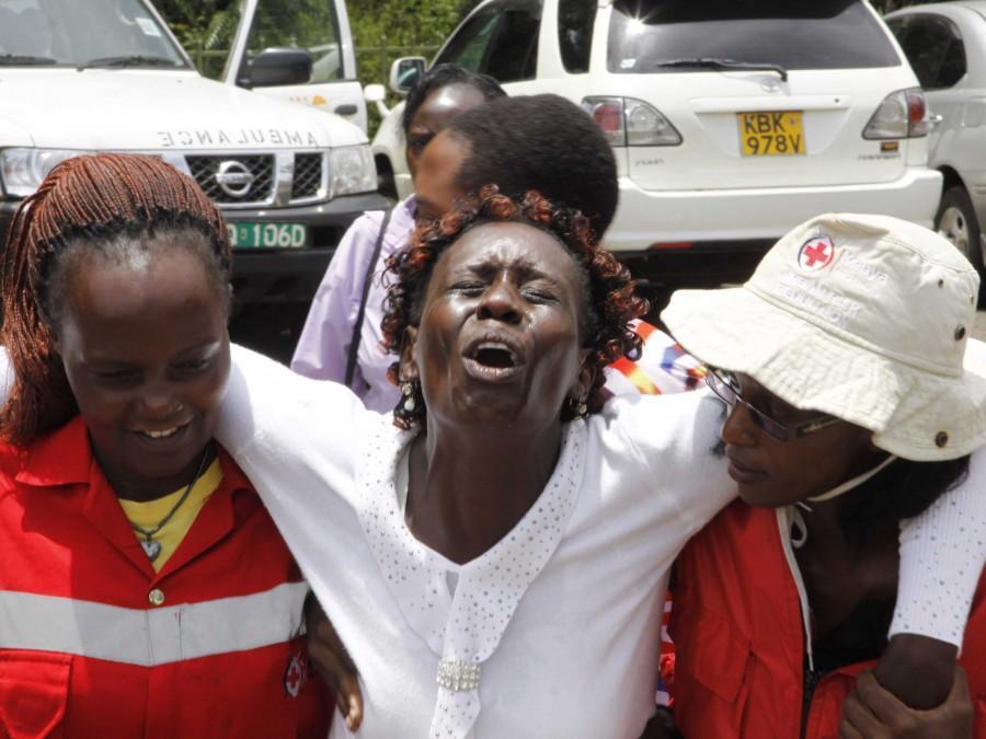On Thursday April 2nd a Kenyan army