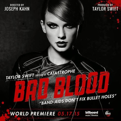 Taylor Swift's latest music video Bad Blood premiered May 17 and has since received much recognition.