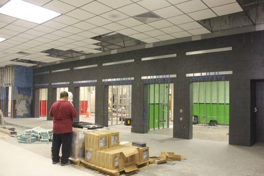 Cafeteria+Remodeling+is+Underway