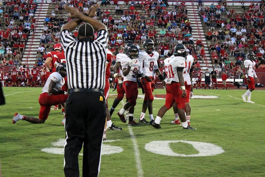 Chiefs Defeated By the Indians at Vero Beach High School