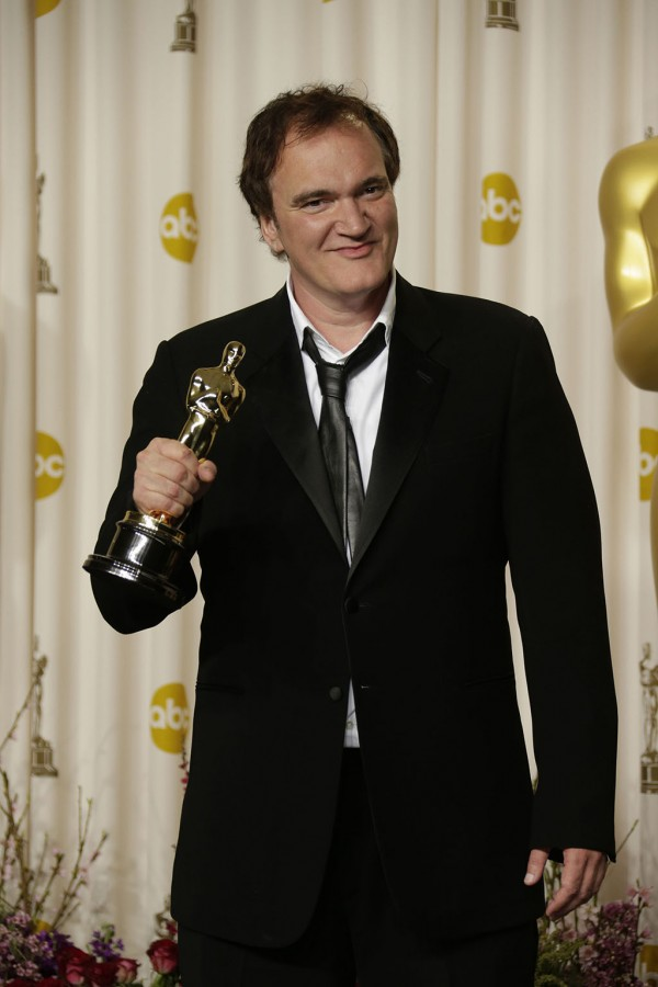 Quentin Tarantino backstage at the 85th annual Academy Awards at the Dolby Theatre at Hollywood & Highland Center in Los Angeles, California. (Lawrence K. Ho/Los Angeles Times/MCT)