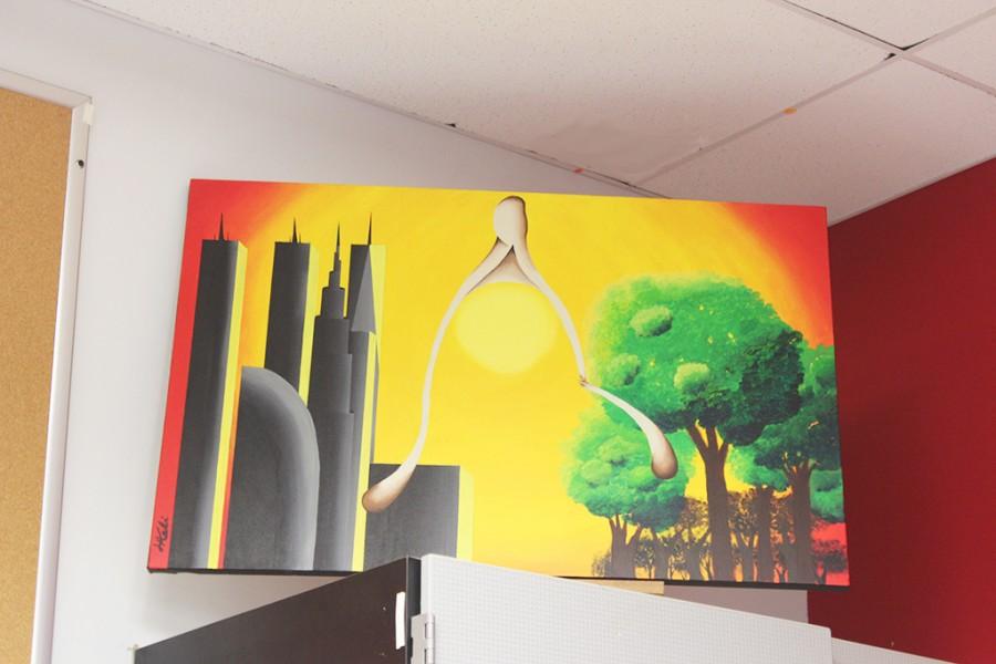 Senior+Lorence+Medina%27s+take+on+deforestation+through+an+interpretive+painting.