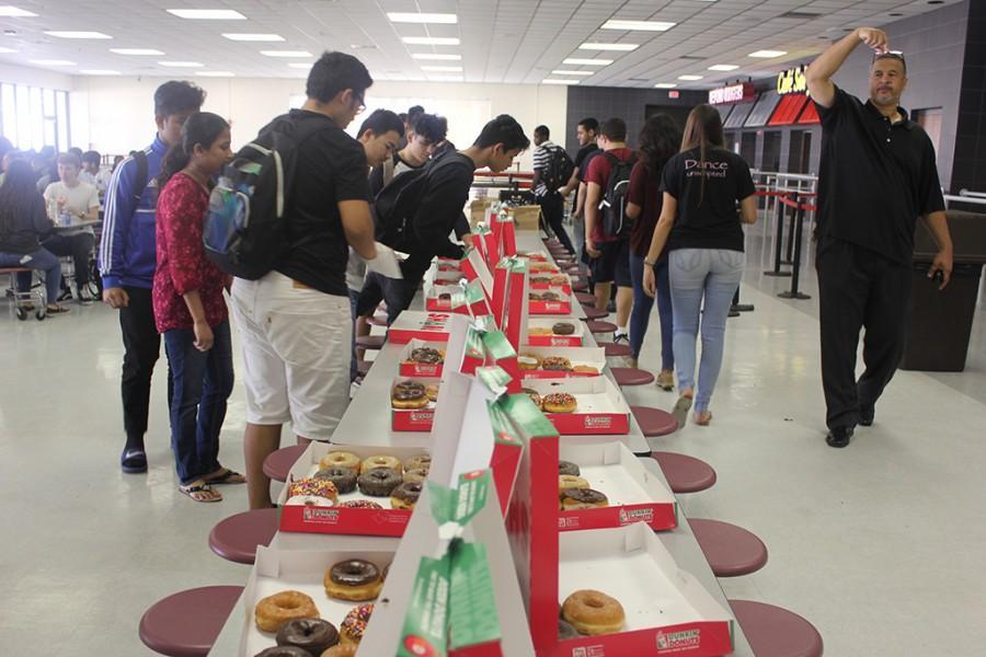 Juniors Dunk into Donuts