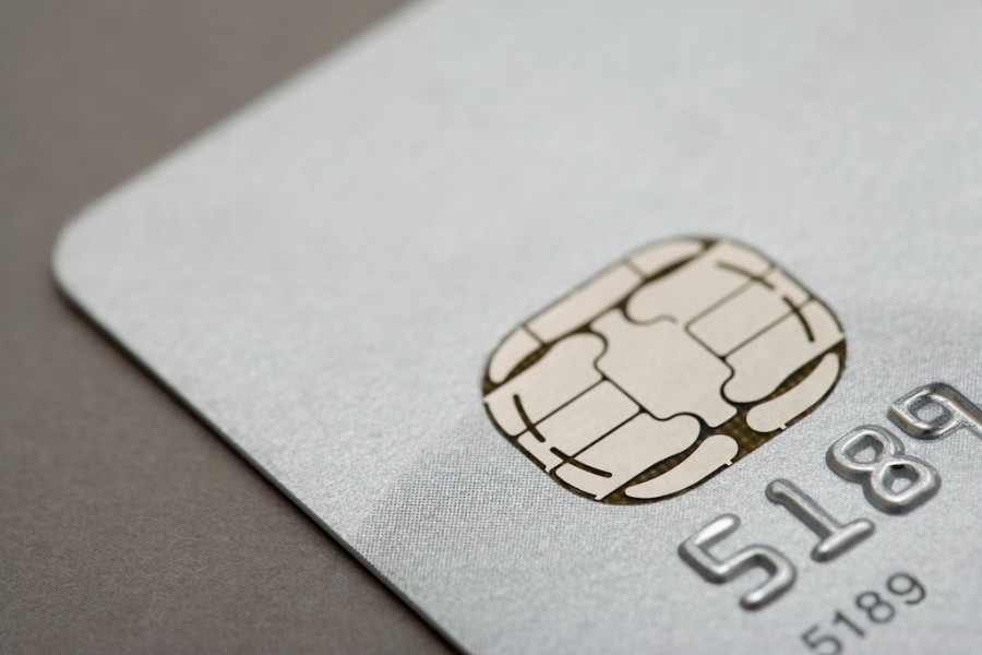 A chip credit card. (Image Source/Zuma Press/TNS)