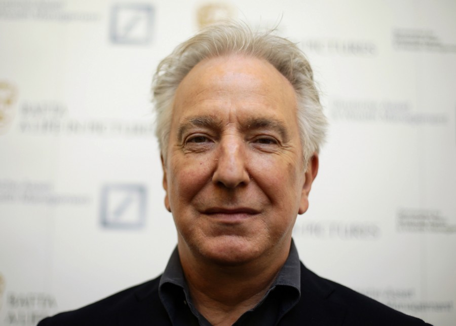 Alan+Rickman+attends+the+BAFTA+hosted+A+Life+in+Pictures+with+Alan+Rickman+event+on+April+15%2C+2015+in+London.+The+actor+has+died+from+cancer+at+age+69%2C+his+family+said+on+Jan.+14%2C+2016.+%28Yui+Mok%2FPA+Wire%2FZuma+Press%2FTNS%29