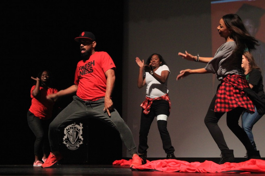 Photo of the Day: Teachers Dancing in the Rally to Graduate