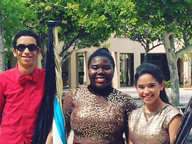 Ray%2C+Melissa%2C+and+Jay+at+Mariner+High+School
