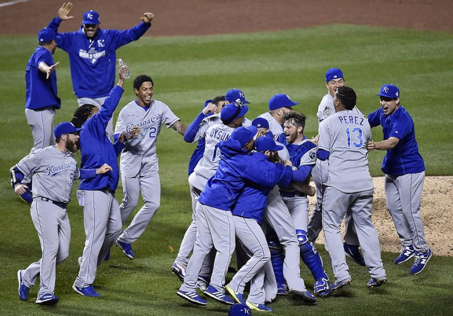 The+Kansas+City+Royals+celebrate+after+defeating+the+New+York+Met+7-2+to+win+the+World+Series+on+Sunday%2C+Nov.+1%2C+2015+at+Citi+Field+in+New+York.+%28Jill+Toyoshiba%2FKansas+City+Star%2FTNS%29