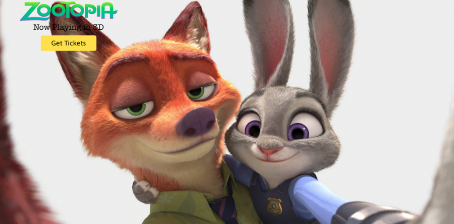 Image courtesy of Zootopia's official website.