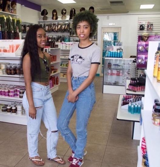 Kayla, 19 and Keonna, 21