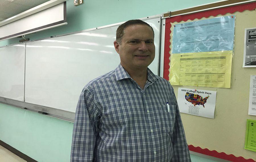 New teacher: Mr. Colucci
