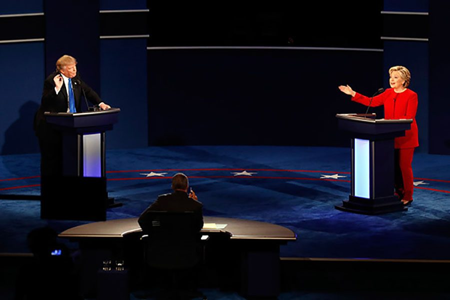 Trump and Clinton take on first Presidential debate
