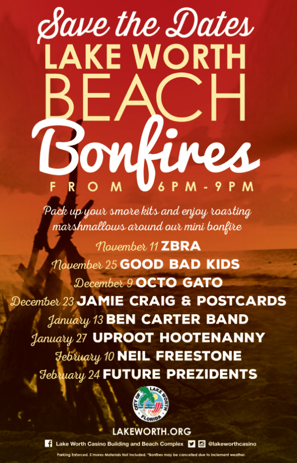 Lake Worth Beach Bonfires
