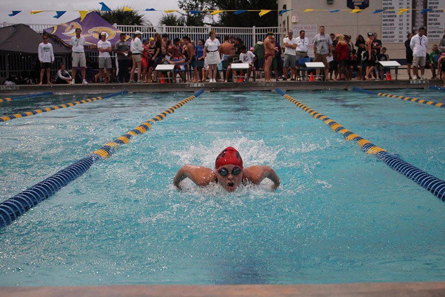 Victoria Konsavage Flies Past Competition