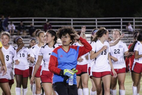 Girls Soccer Dominate Trojans