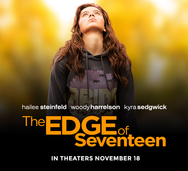 Hailee Stienfeld is Miserable in The Edge of Seventeen