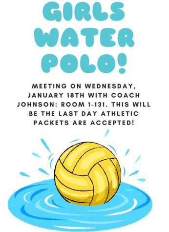 Girls Water Polo Meeting
