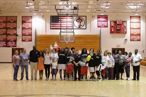 Girls Slam Somerset on Senior Night