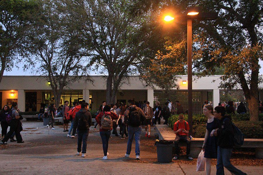 Chiefs Embrace Daylight Saving in the Courtyard