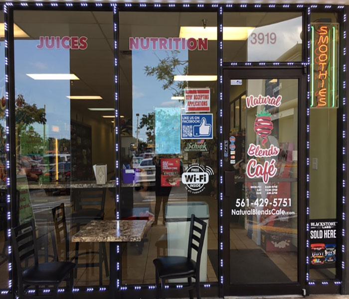Smoothie Central at Natural Blends Cafe