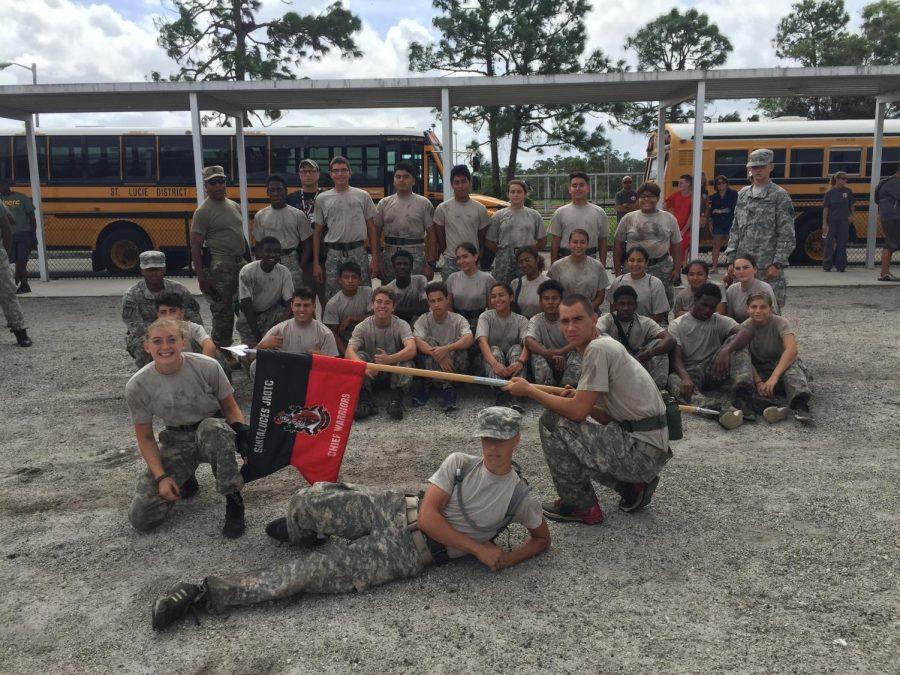 JROTC Raiders At SouthFork