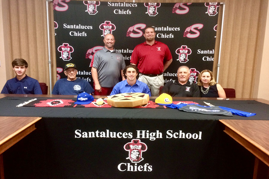AJ Orrico signs with Florida State College at Jacksonville
